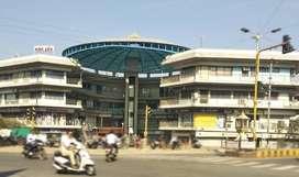 Road Facing Shop on Rent in Madhav Darshan