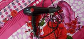 chaoba  CB-2800 Hair Dryer 2000 w,black  very very good condition