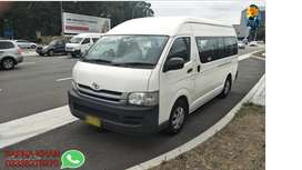 Hiace get on easy monthly installment.