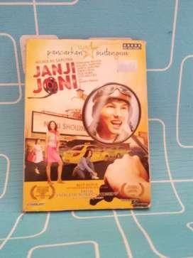 VCD Film Indonesia Janji Joni Nicholas Saputra Original