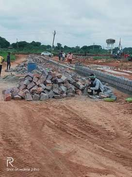 TS RERA HMDA APPROVED LAYOUT PROJECT BENGLOUR HIGHWAY FECEING KOTHUR