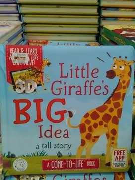 AUGMENTED REALITY 3D Buku Dipadu Aplikasi Little Giraffe