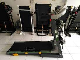 Treadmill elektrik 3 fungsi TL288 - TASIKMALAYA ongkir 200rb yaa