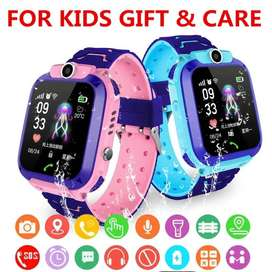 kids W16 Anti Lost Child SOS Positioning Tracking smart Phone Watch