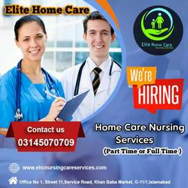Required Male And Female Nurses