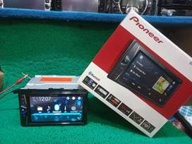 Doubeldin pioneer dvd usb bluetooth