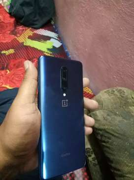 One plus 7pro new good condition 23jan Parchising date