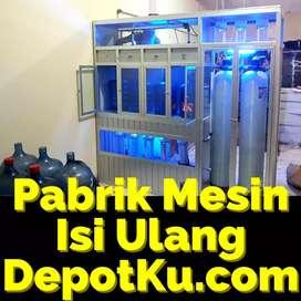 Mesin depot mineral atau ro