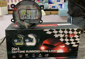 Car led fog lamp daytime drl led suzuki toyota altis innova fortuner