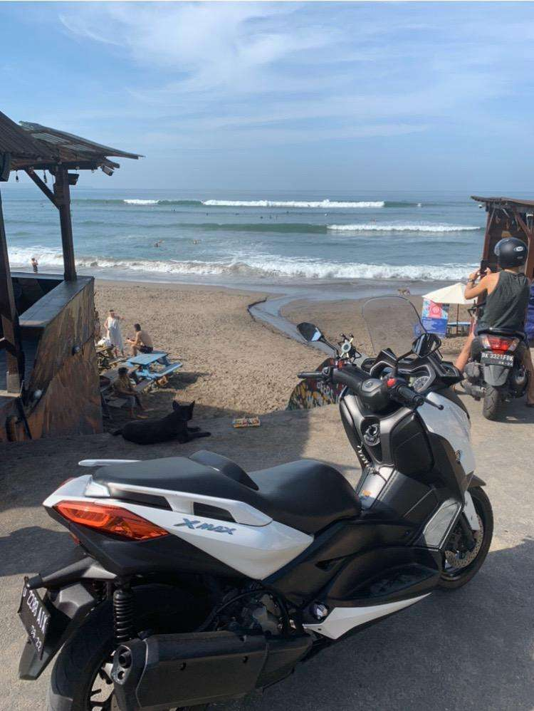 Nego sampe jadi: Yamaha Xmax 2017, Putih, Mulus, Canggu Bali
