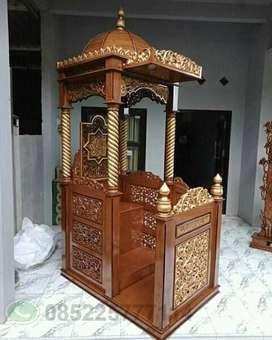 mimbar masjid kubah 01