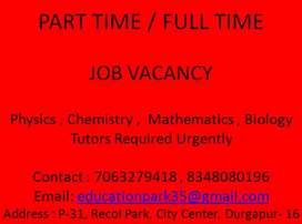 Part time teacher requirement
