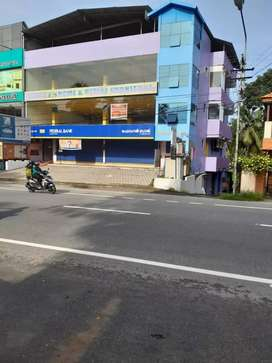 Commercial Space for Rent at Ulloor-Pongumoodu NH side.