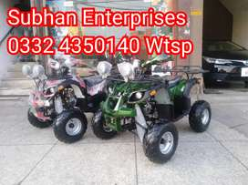 Brand New Box Packed Atv Quad 4 Wheels Bike Deliver In All Pakistan