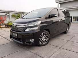 Toyota Vellfire Q 3.5 At 2012 Full Option Low km Kondisi Terawat