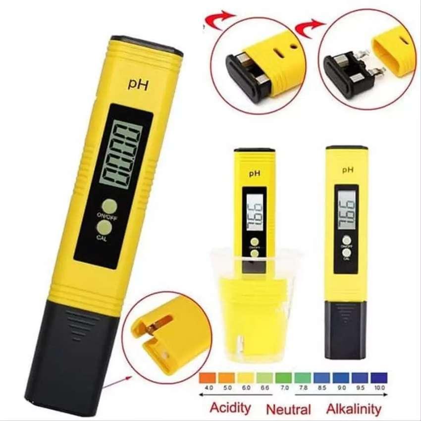 pH meter 4 digit auto calibration 0