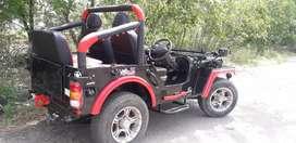 Silent enjan jeep