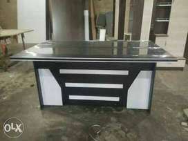executive office table 5*3 made by Partical lamination board.