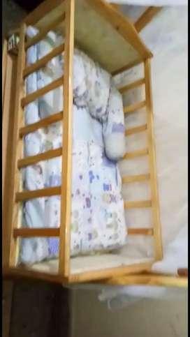 Baby Jhula cum bed