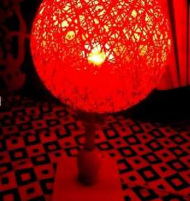 Awesome Red Net Table Lamp
