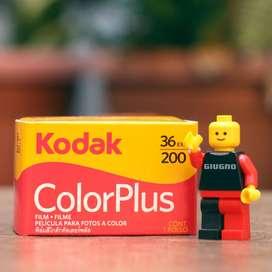 Kodak Colorplus 200 - Roll Film 35mm kamera analog