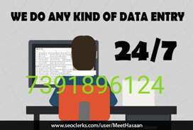Simple Data entry work from home!!