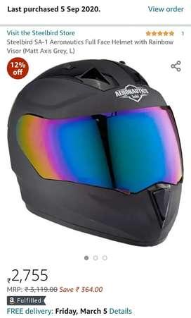 Steelbird Aeronautics Full Face Helmet