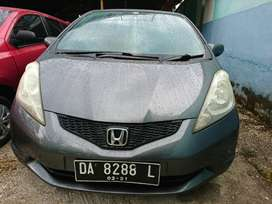 Honda new jazz s tahun 2010 manual abu abu