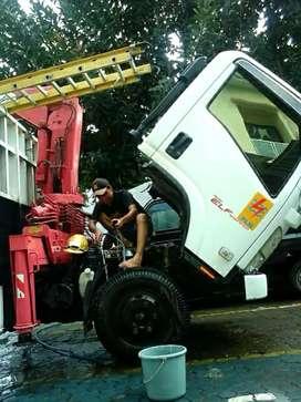 Truck Hiab Crane  3 Ton Turun Harga