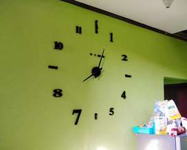 Jam dinding Big Size Minimalis Diameter 100cm