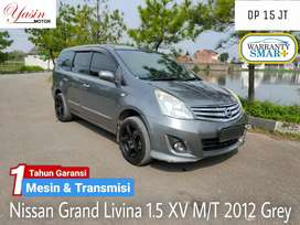 DP 15 JT !!! Grand Livina 1.5 XV M/T 2012 Grey