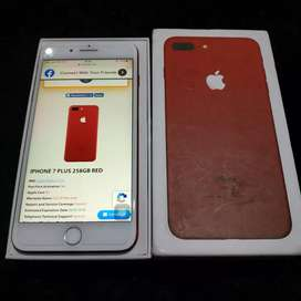 IPhone 7 plus 256gb red product