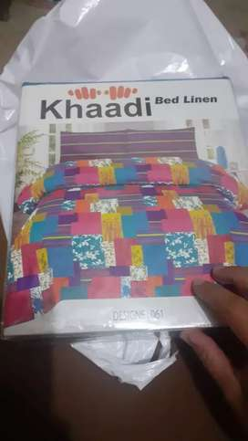 Khaddi bed sheets