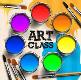 Art class and all subject home tution up to 10th class