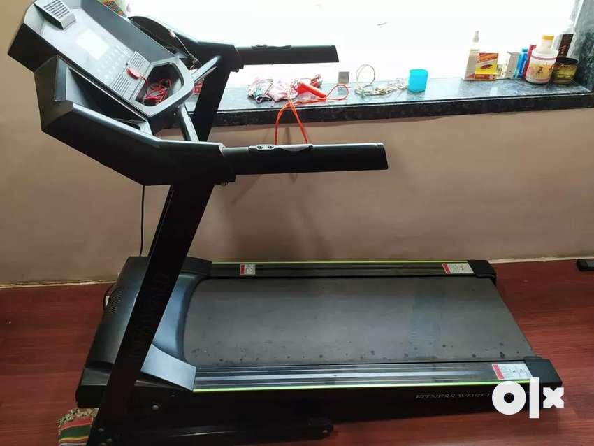 Urgent sell Fitness world treadmill 0