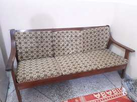 5 seater wooden sofa set for sale