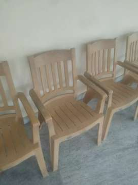 Nilkamal Plastic Chairs 200 pieces