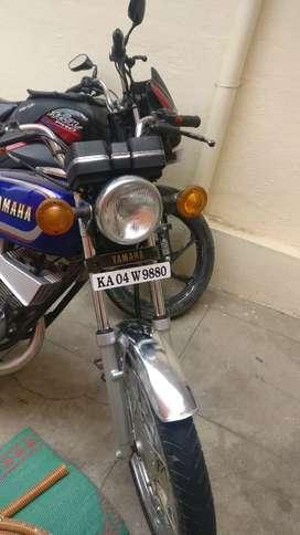 Yamaha rx135 2000 model bike restored