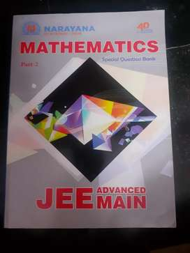 JEE Advanced and JEE mains combined question banks of NARAYANA college