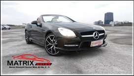 Mercedes Benz SLK200 AMG Convertible 2013 Elegant Black