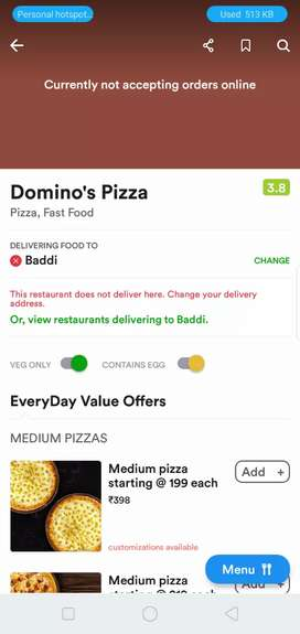 Domino's boys required can make Carrier in dominos pizza