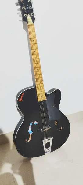 Guitar good condition .