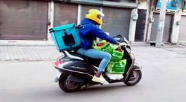 bike riders for delivery are needed
