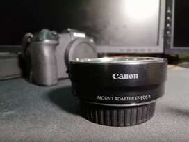 Canon RF Mount Adapter EF-EOS R for Canon Eos R RP R5 Or R6