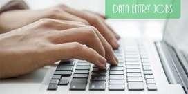 Home base data entry job