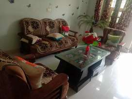 Sofa set 5seater with cushion and sofa cover