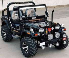 Open Jeep On rent