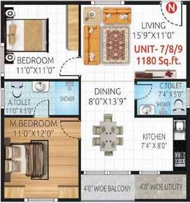 Luxury Flats for sale in Jp Nagar 5th Phase