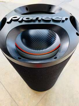 Pioneer subwoofer and V12 amplifier