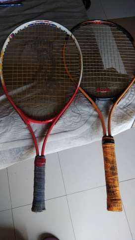 LAWN TENNIS RACKETS (KIDS) - 2 No. with covers. Immediate sale